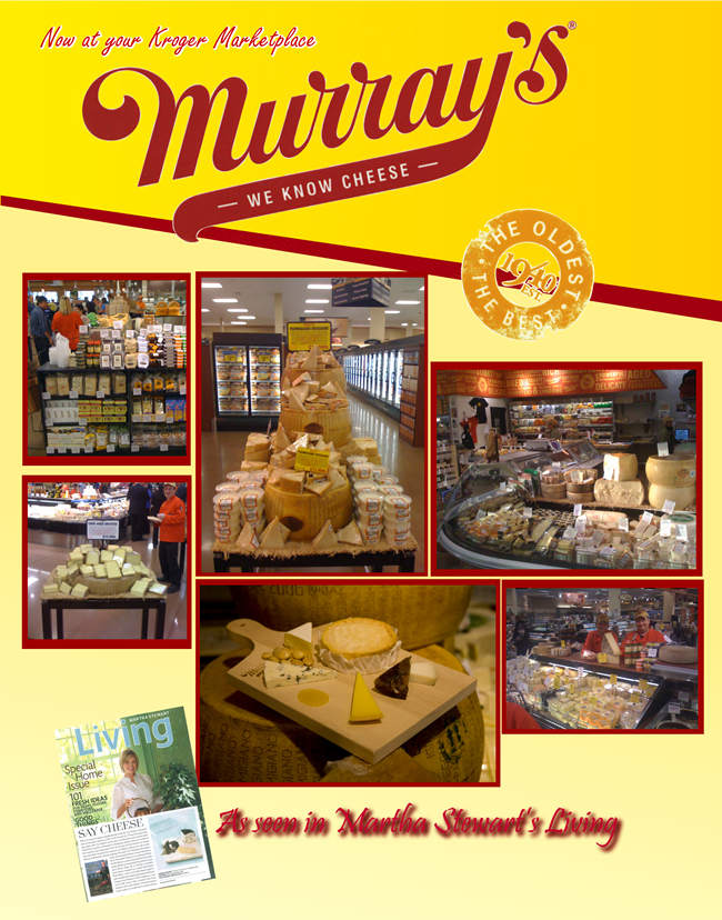 Murray's of New York opened a local uh... 'chapter' within the supermarket. If I could do one thing differently, I would nix that drop shadow at the bottom...